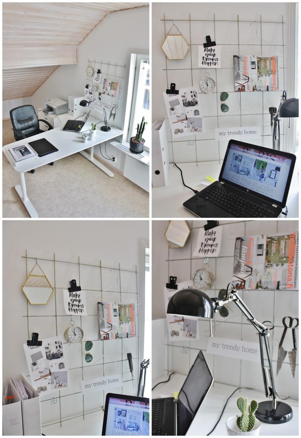 Ikea,BEKANT,IVAR,armeringsnät,DIY,kontor,skandinaviska hem,scandinavian interior